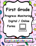 Progress Monitoring for First Grade using Google Forms
