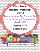 Readers Workshop  Unit 3 Gr 1 Lesson Plan Bundle Readers Have Big Jobs to Do