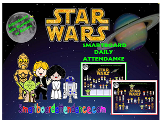 Star Wars Attendance With or Without Lunch Count